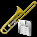 Save, Trombone Icon