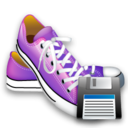 Save, Shoes Icon