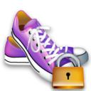 Lock, Shoes Icon
