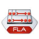 Fla, Flash Icon