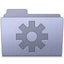 Folder, Lavender, Setting Icon