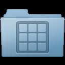 Blue, Folder, Icons Icon