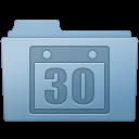 Blue, Folder, Schedule Icon