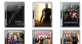 Movie Pack 12 Icons