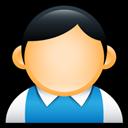 Blue, Preppy, User Icon