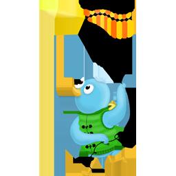 Follow, Kite, Me, Spring Icon