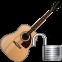 Guitar, Unlock Icon