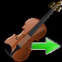 Next, Violin Icon
