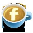 Fb, Icon, Latte, Social Icon