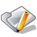 Folder, Pen, Write Icon