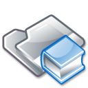 Folder, Man Icon