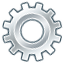 Cog, Gear, Run, Settings Icon