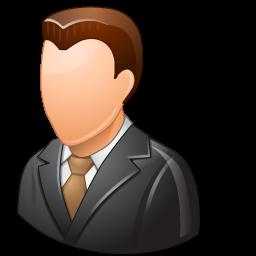 Client, Light, Male Icon