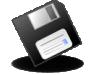 Floppy, Unmount Icon