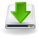 Arrow, Disk, Download Icon