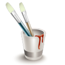Colors, Draw, Paint Icon