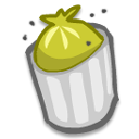 Full, Trash Icon