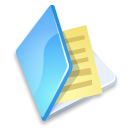 Blue, Documents, Folder Icon