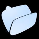 Folder, Lightblue, Open Icon