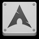 Arch, Here, Start Icon