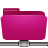 Folder, Pink, Remote Icon