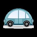 Blue, Car, Icon Icon