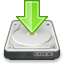 Download, Harddisk, Save Icon