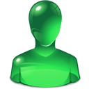 Green, User Icon