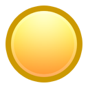 Ball, Yellow Icon
