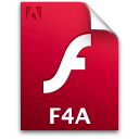 Document, F4a, File Icon
