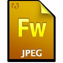 Document, File, Fw, Jpg Icon