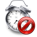 Clock, Disabled, Kalarm Icon