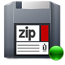 Mount, Zip Icon
