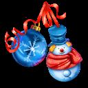 Christmas, Snowman Icon