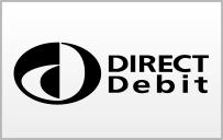 Debit, Direct, Straight Icon