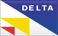 Delta, Straight Icon