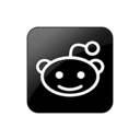 Logo, Reddit, Square Icon