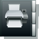 Book, Printer Icon
