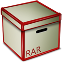 Box, Rar Icon