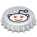 Beer, Cap, Reddit Icon