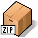 Archive, Beos, Zip Icon