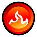 Burning, Fire, Nero, Smart, Start Icon