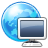 Browser, Computer, Earth, World Icon