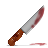 Bloody, Knife Icon