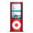 Ipod, Nano, Red Icon