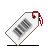 Barcode, Tag, White Icon