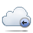 Back, Cloud Icon