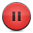 Button, Pause, Red Icon