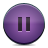 Button, Pause, Violet Icon