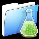 Aqua, Copy, Experiments, Folder, Smooth Icon